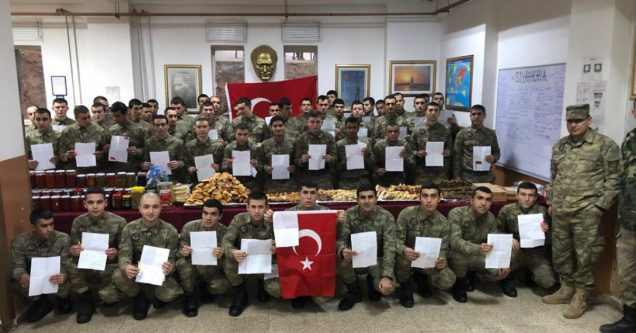 İMKB'den Mehmetçiğe mektup var!