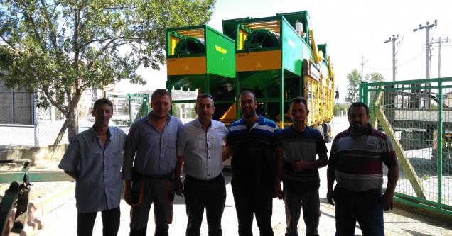 Çiftçiye Selektör Makinesi desteği