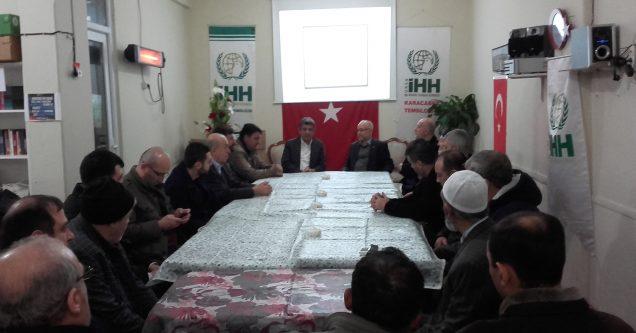 AK Parti'den İHH'ye ziyaret