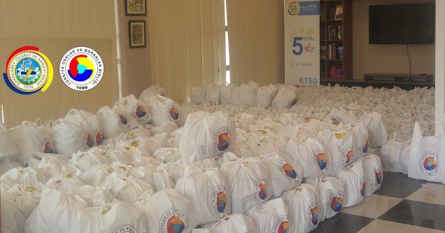 KTSO'dan 740 aileye Ramazan yardımı