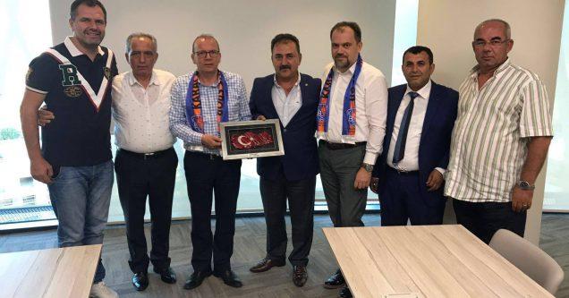 Birlikspor'dan teşekkür ziyaretleri