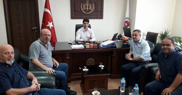 CHP'den Başsavcı Atbaş'a 'Hayırlı Olsun' Ziyareti