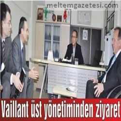 Vaillant üst yönetiminden ziyaret