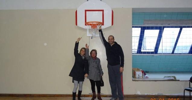 Belediye'den basketbola altyapı desteği