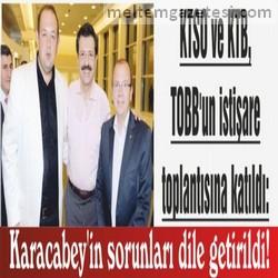 Karacabey'in sorunları dile getirildi!