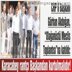 Karacabey rantçı Başkandan kurtulmalıdır!