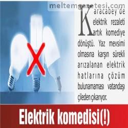 Elektrik komedisi(!)