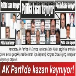 AK Parti'de kazan kaynıyor!