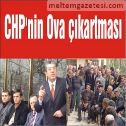 CHP'nin Ova çıkartması