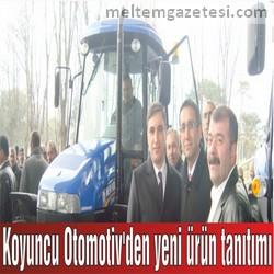Koyuncu Otomotiv'den yeni ürün tanıtımı