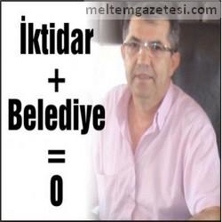 İktidar + Belediye = 0