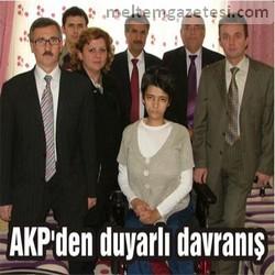 AKP'den duyarlı davranış