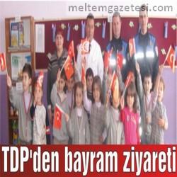 TDP'den bayram ziyareti