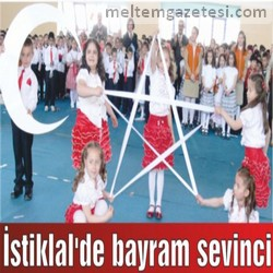 İstiklal'de bayram sevinci