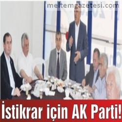 İstikrar için AK Parti!