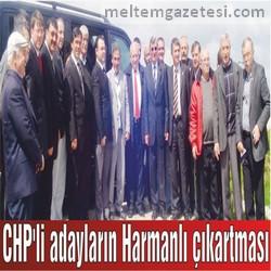 CHP'li adayların Harmanlı çıkartması
