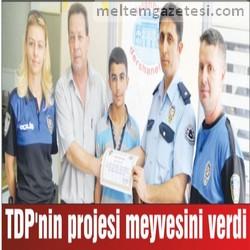 TDP'nin projesi meyvesini verdi