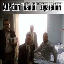 AKP'den Kandil ziyaretleri