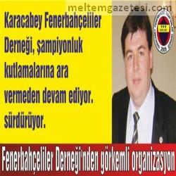 Fenerbahçeliler Derneği'nden görkemli organizasyon