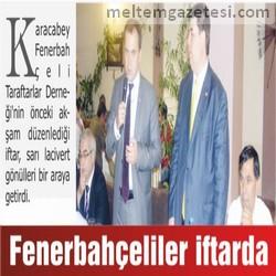 Fenerbahçeliler iftarda