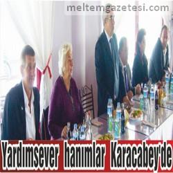 Yardımsever hanımlar Karacabey'de