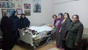 AK Kadınlar'dan  şehit ailelerine vefa ziyareti