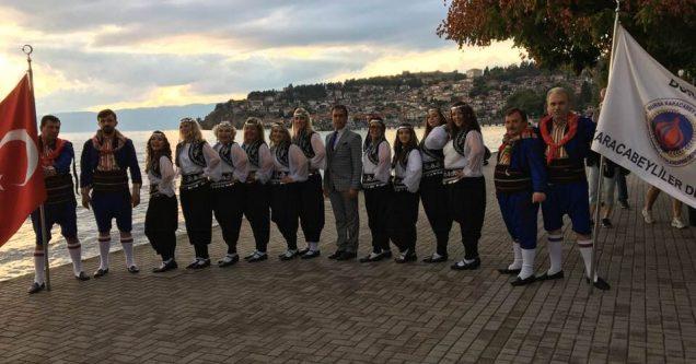 Karacabeyliler Derneği Halk Oyunları Ekibi İspanya yolcusu