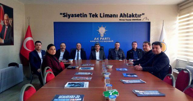 AK Parti'ye 'Hayırlı Olsun' ziyaretleri sürüyor