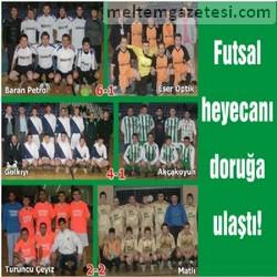 Futsal heyecanı doruğa ulaştı!