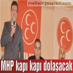 MHP kapı kapı dolaşacak