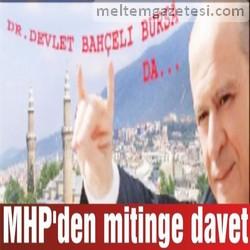 MHP'den mitinge davet