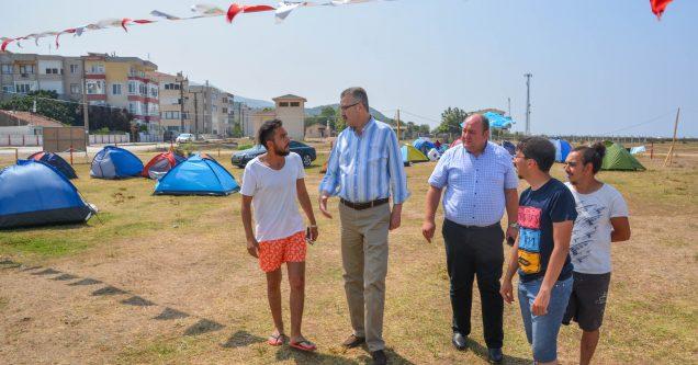 Yeniköy'e kamp alanı geliyor