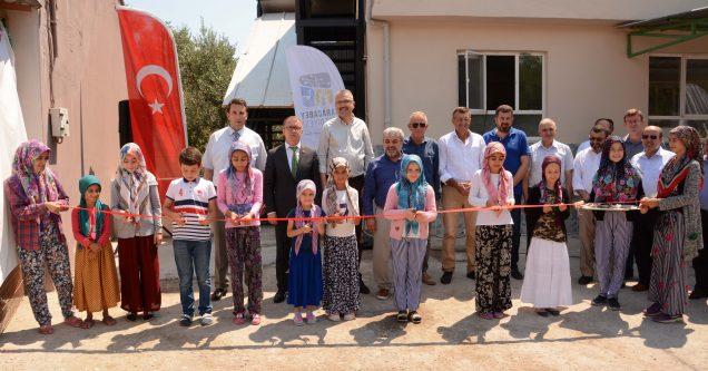 Hotanlı Cami ek hizmet binası törenle açıldı