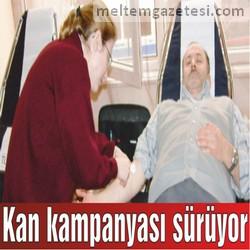 Kan kampanyası sürüyor