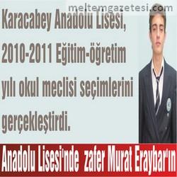 Anadolu Lisesi'nde zafer Murat Eraybar'ın