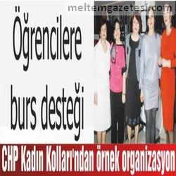 CHP Kadın Kolları'ndan örnek organizasyon