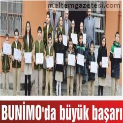 BUNİMO'da büyük başarı