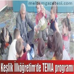 Keşlik İlköğretim'de TEMA programı