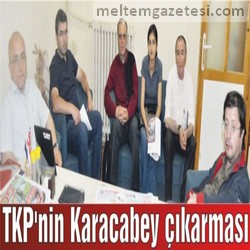 TKP'nin Karacabey çıkarması