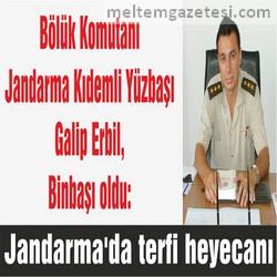Jandarma'da terfi heyecanı