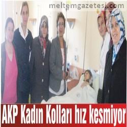 AKP Kadın Kolları hız kesmiyor