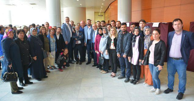 AK Karacabey'den temayülde tam destek