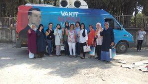 AK Kadınlar 24 Haziran için 24 saat sahada