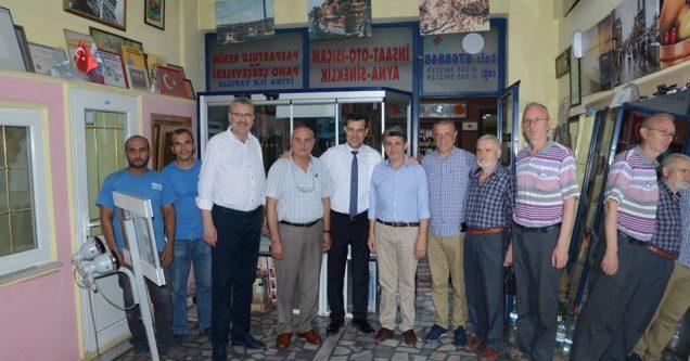 Esgin'den Karacabey'e teşekkür ziyaretleri