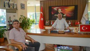 İşcan'dan  Başkan  Özkan'a  tam destek!