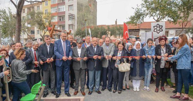 Servet Somuncuoğlu Parkı  törenle hizmete açıldı