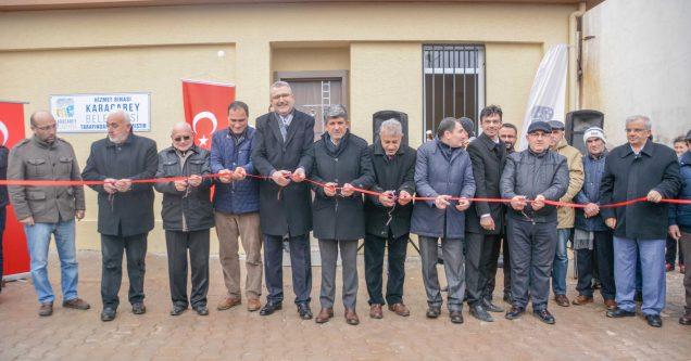 Keşlik Mahallesi Hizmet Binası açıldı