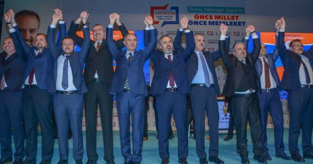 AK Parti'de Özkan'la yola devam!