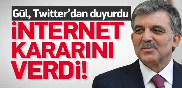İnternet düzenlemesine onay!