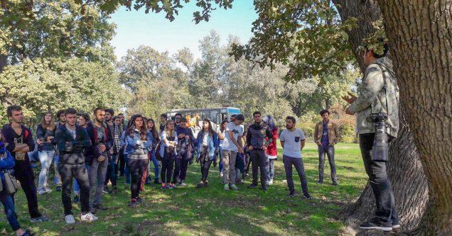 Üniversiteliler Longoz Ormanlarını keşfetti